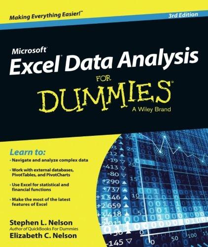 Best data analysis for dummies list