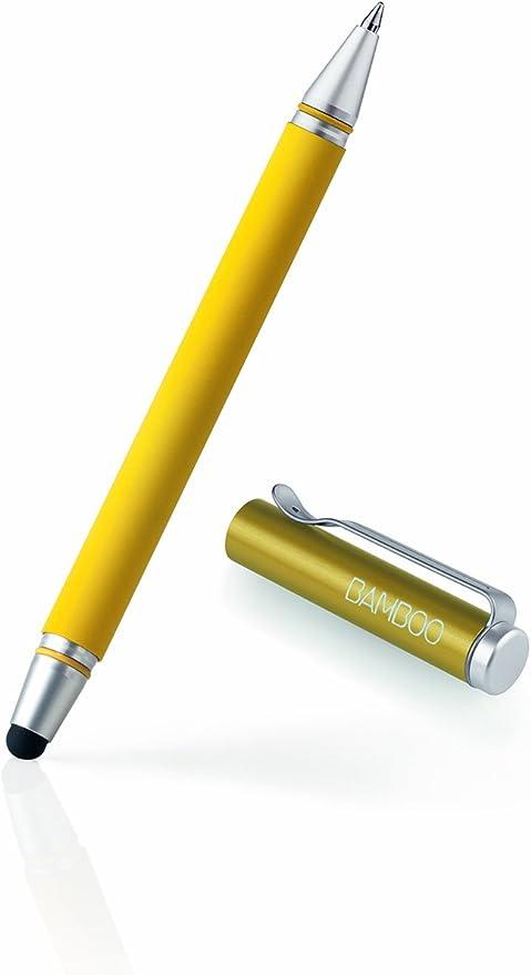 Wacom Bamboo Stylus Duo Cs 150y Eingabestift Für Ipad Smartphones Tablet Pcskugelschreiber Stiftspitze Austauschbar