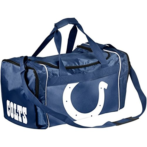 NFL Indianapolis Colts Locker Room Collection Medium Duffle Bag by Forever Collectibles
