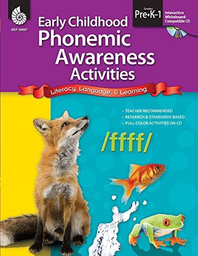 Early Childhood Phonemic Awareness Activities (Early Childhood Activities) ()