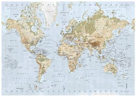 Cartina Mondo Ikea.Ikea Premiar Picture Map Of The World 200 X 140 Cm Amazon De Kuche Haushalt