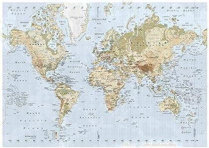 Cartina Mondo Ikea.Ikea Premiar Quadro Mappa Del Mondo 200 X 140 Cm Amazon It Casa E Cucina