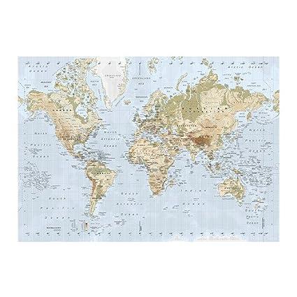 Amazon.com: IKEA PREMIAR - Picture, world map - 200x140 cm: Posters ...
