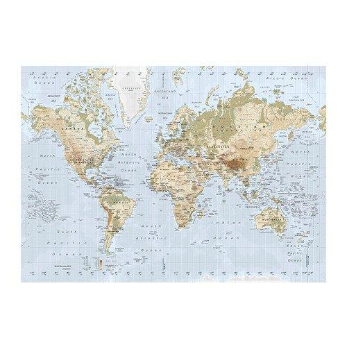 Ikea premiar picture world map 200x140 cm amazon ikea premiar picture world map 200x140 cm gumiabroncs Gallery