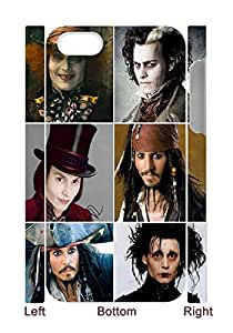 [case forcolor]:Are you SURE those are all Johnny Depp Hard Case for iphone4 4s(3D).