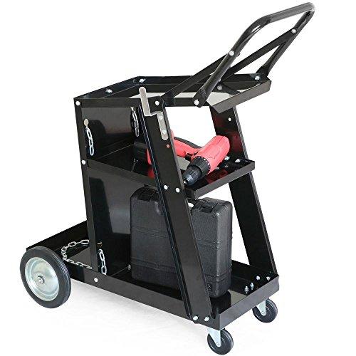 Yaheetech Universal Welder Welding Cart Storage for Tanks & Accessories