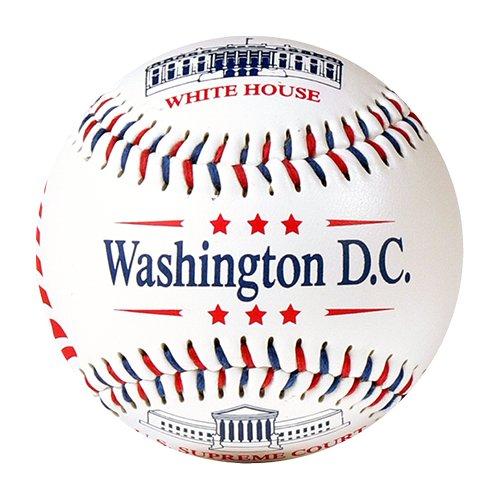 EnjoyLife Inc Washington D.C. Souvenir Baseball (Rubber Core)