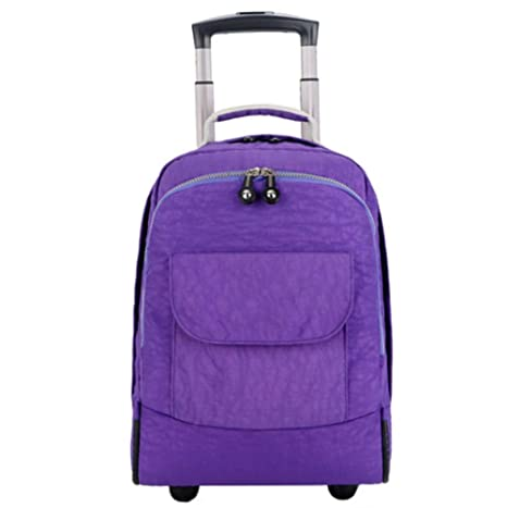 298ea3c8a3 DYYTR Zaino Zaino Trolley con Ruote A Ruote Business Bag Ruote Laptop Zaino  A Bordo.