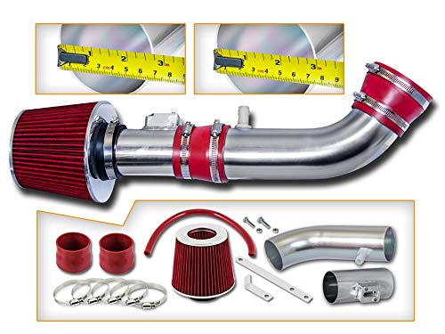Rtunes Racing Short Ram Air Intake Kit + Filter Combo RED For 04-11 Ford Ranger / 04-09 Mazda B4000 4.0L V6