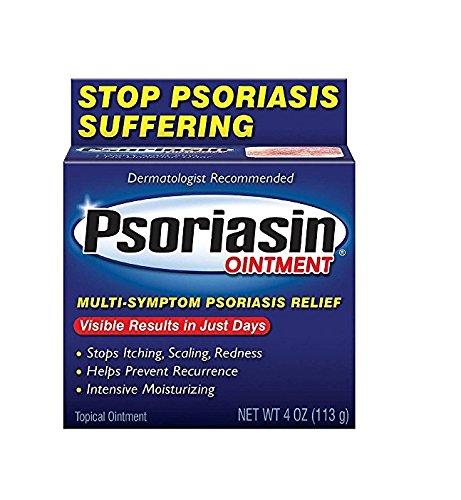 Psoriasin Multi-Symptom Psoriasis Relief Ointment 4 Ounce 1 12