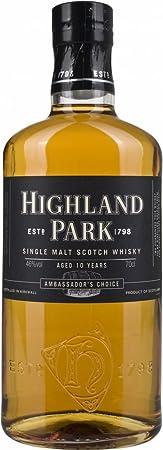 Highland Park 10 Años de Edad Elección del Embajador Whisky - 700 ml