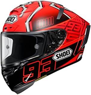 Amazon.com: Shoei Assail X-14 Sports Bike Racing Motorcycle Helmet ...