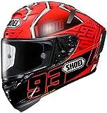 Shoei Marquez4 X-14 Sports Bike Racing Motorcycle Helmet - TC-1 / Large