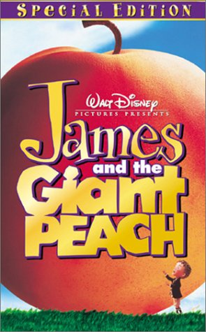 James and the Giant Peach Walt Disney Pictures PresentsVHS