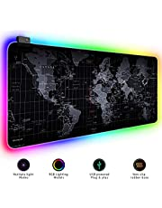 Extended Large Gaming Mouse Pad XL Thick Non-Slip Rubber Base Mouse pad Mice Smooth Cloth Surface Keyboard Mouse Pads for Computers