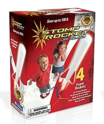 Stomp Rocket Jr. Glow Kit (Red White)