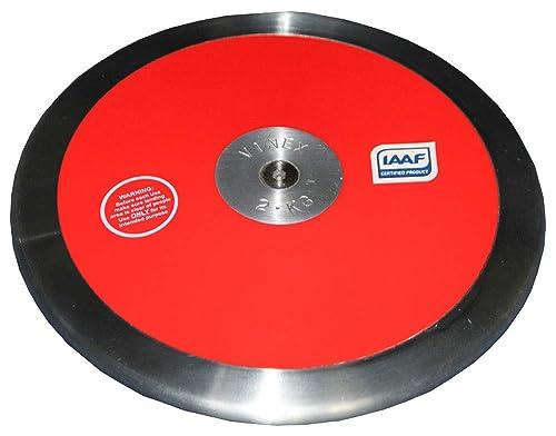 1,00 kg Vinex Lancer du Disque pour Les comp/étitions et lentra/înement 1,75 kg 0,75 kg 2,00 kg Disque /à Lancer 1,50 kg Bois