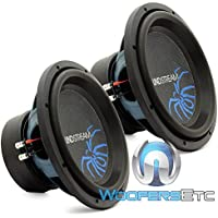 (2) R3-12 - Pair of Soundstream 12 800W RMS Dual 2-Ohm Reference Subwoofers