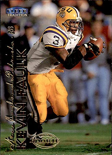 1999 Fleer Tradition #269 Kevin Faulk RC ROOKIE LSU TIGERS NEW ENGLAND PATRIOTS from Fleer Tradition