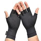 Medipaq Anti ARTHRITIS Fingerless COPPER Compression Therapy Gloves …
