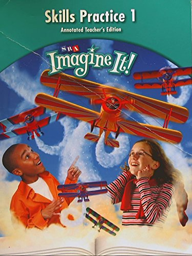 SRA Imagine It! Skills Practice Book 1, Level 5. Annotated Teachers Edition. 9780076104963, 0076104966.