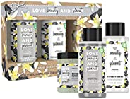 Love Beauty and Planet Holiday Hair Detox Gift Set Delightful Detox Charcoal & Bergamot Vegan, Paraben-fre