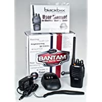 Klein Electronics BANTAM-VHF Blackbox Bantam VHF 2-Way Radio with Kenwood Connector Jack; Compact, Rugged, Full Power Radio; 16 Channels; 5 watts/2 watts RF power; Scanning; Voice Channel Enunciation