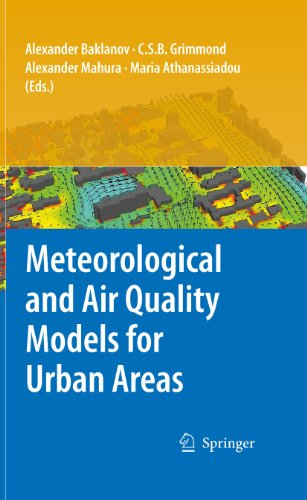 Download Meteorological and Air Quality Models for Urban Areas Pdf