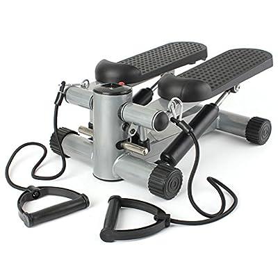 New Equipment Leg Exercise Machines Aerobic Fitness Step Air Stair Climber Stepper Exercise Machine Black