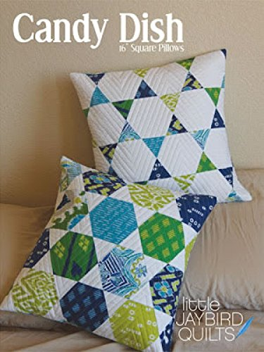 Jaybird Candy Dish Pillows Quilt Pattern