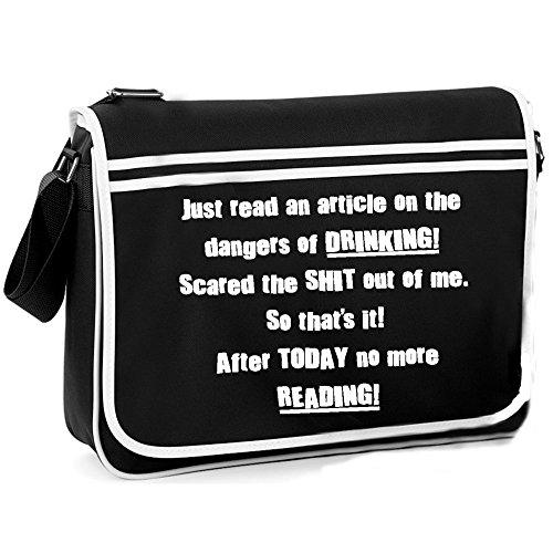 Dangers Drinking Of Retro Bag Shoulder 7OP7rwq