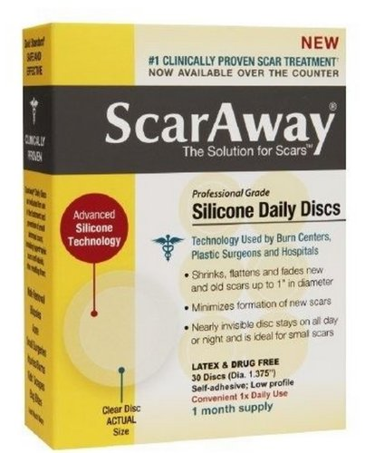 ScarAway Professional Grade Silicone Daily Discs - 30 Dis...