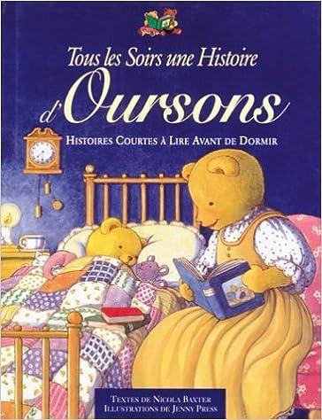 En ligne téléchargement Chaque soir une histoire d'oursons pdf ebook