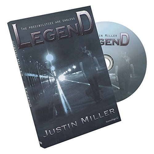 MMS Legend (DVD and Gimmicks) by Justin Miller and Kozmomagic DVD