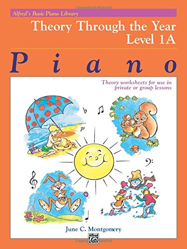 Alfred's Basic Piano Library Theory Through the Year, Bk 1A ...