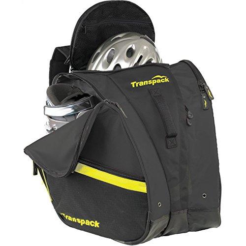 TRV Pro Boot Bag Color: Black w/ Orange Electric