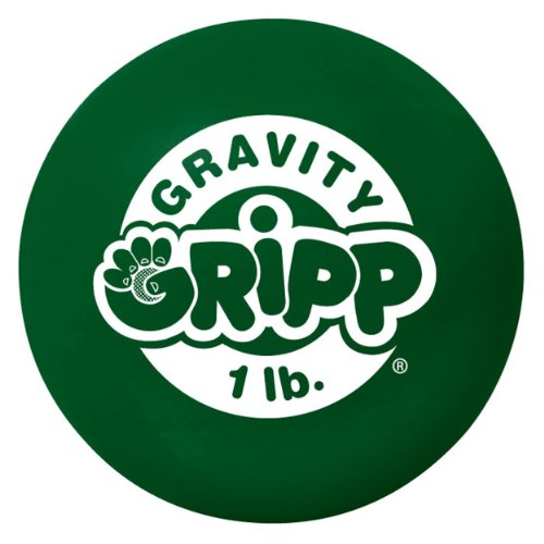 Iron Gloves Golf Gravity Gripp Hand Strengthener (Green, 1 LB) - Gravity Gripp Ball