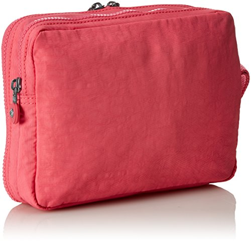 Kipling - DONNICA - Babytasche mit Wickelmatte - Black Scale Emb - (Schwarz) City Pink