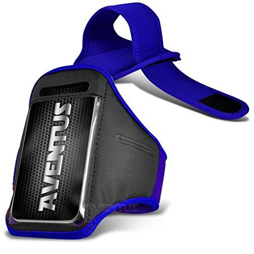 Aventus ZTE Nubia My Prague (Baby Blau) Voll einstellbare Leicht Hulle Armband-Halter-Kasten-Abdeckung Running, Walking, Radfahren, Fitnessraum und andere Sportarten Blau