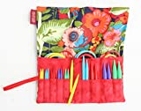 Denise2Go Interchangeable Knitting Needles, Sharp Short Tips Complete (US5-15) (Summer Garden)