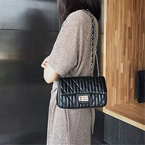 Chain Trend Bag Wild Bag Fashion Shoulder C B Square LANGUANGLIN Messenger Bag Personality Small R6dqwc5wUn