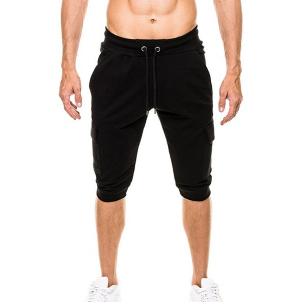 Keephen Pantaloncini da jogging da palestra per uomo estate