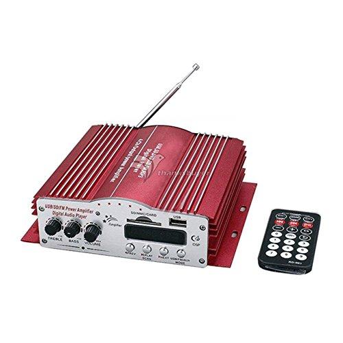 MODULO AMPLIFICADOR DE SOM PARA CARRO COM 4 CANAIS USB/SD DIGITAL COM CONTROLE KINTER MA-200