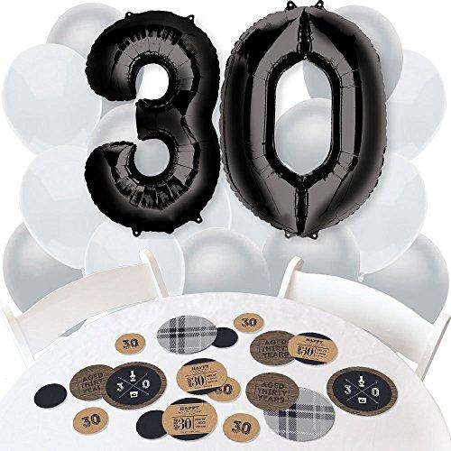 30th Birthday Decorations for Him Amazoncom