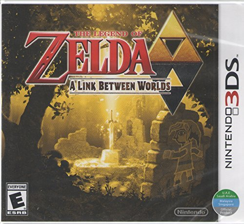 The Legend of Zelda - A Link Between Worlds - Nintendo 3DS (World Edition)