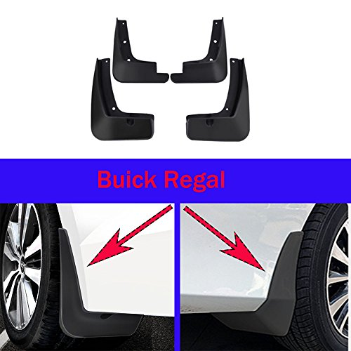 dflaps Splash Guard Fender New For Buick Regal 2014 2015 2016 2017 2018 2019 ()