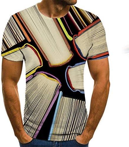 Camiseta Camiseta de Verano para Hombre Sudadera 3D Estampado ...