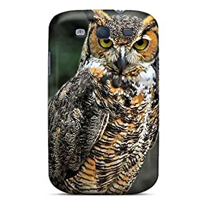 Tough Galaxy WtVWvoD2790tOecz Case Cover/ Case For Galaxy S3(horned Owl)