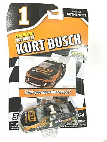 DieCast NASCAR Authentics 2020 Wave 07 Kurt Busch #1