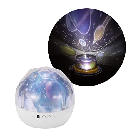 Proyector de estrellas luz de la noche, decorativo del hogar de ...